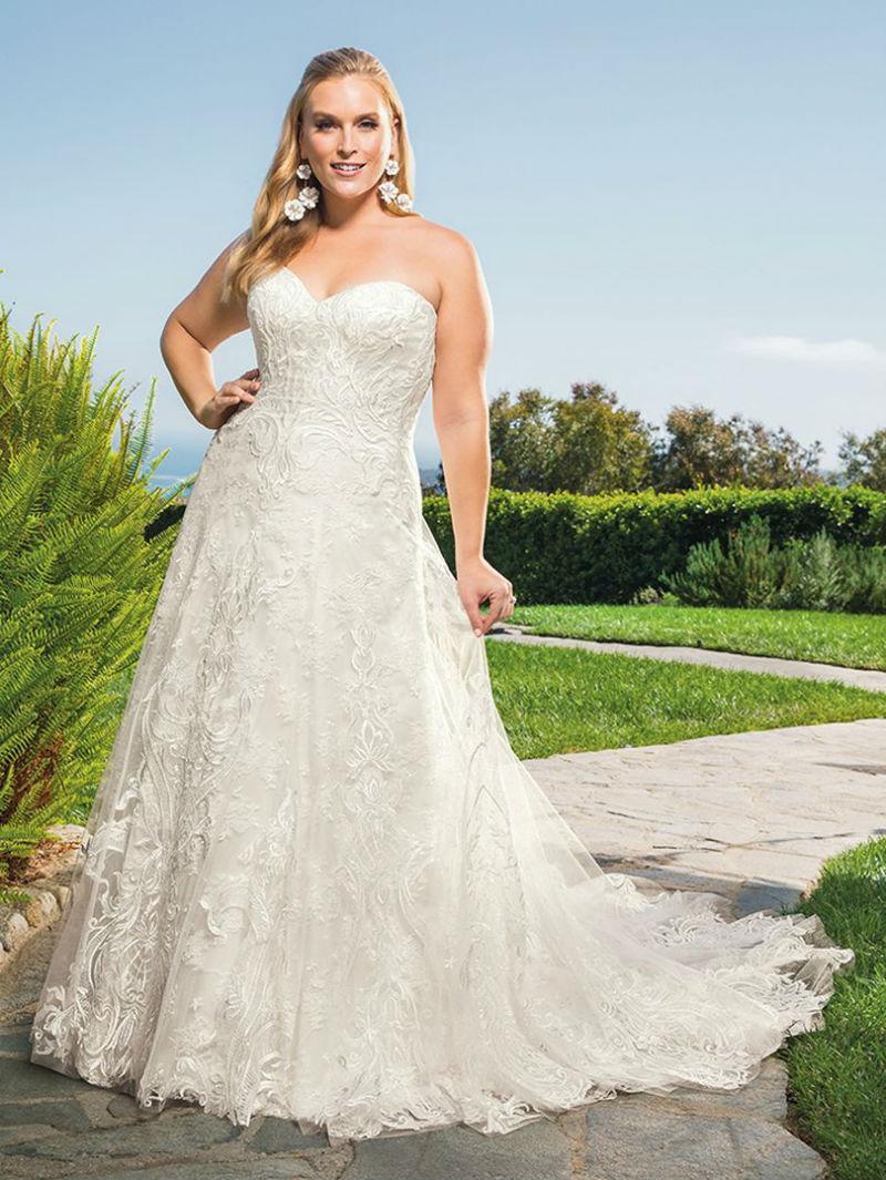 1b9b1863205 Plus-size Designer Wedding Gowns In San Diego   Hctb